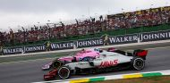 Haas y Force India en Interlagos - SoyMotor.com