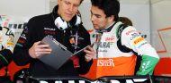 Sergio Pérez en el pasado Gran Premio de Australia - LaF1