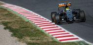 Sergio Pérez en los tests de pretemporada - LaF1