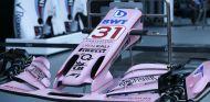 Alerón y morro de Ocon listo para el GP de Singapur - SoyMotor.com