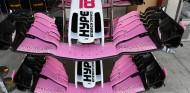 Alerones delanteros de Force India en Yas Marina - SoyMotor.com