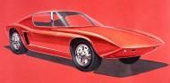 Boceto del Ford GT40, 1963 - SoyMotor.com