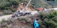 La grúa rescata el coche accidentado - SoyMotor.com