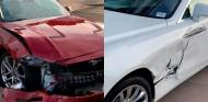 Se confunde de pedal y se estrella contra un Rolls-Royce nuevo