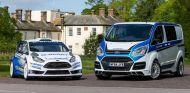 Ford Transit M-Sport con el Fiesta RS WRC - SoyMotor