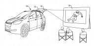 Ford patenta un sistema que convierte un SUV en un cine - SoyMotor.com