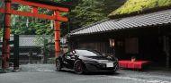 Este 'siniestro' Honda NSX encaja a la perfección con los motivos tradicionales japoneses - SoyMotor