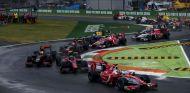 Inicio de la carrera de Fórmula 2 en Italia - SoyMotor.com