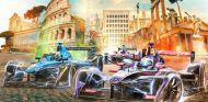 Cartel de la Fórmula E para el ePrix de Roma – SoyMotor.com