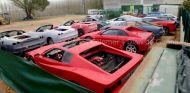 Réplicas ilegales de varios modelos Ferrari - Carles Colomer para el Diari de Girona