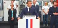 Emmanuel Macron, hoy en rueda de prensa - SoyMotor.com