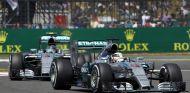 Los dos Mercedes en Silverstone - LaF1.es