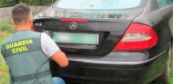 El Mercedes CLK, ya en manos de la Guardia Civil - SoyMotor.com