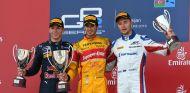 Gasly, Giovinazzi y Sirotkin en el podio de Bakú en la GP2 - SoyMotor