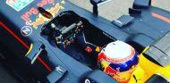 Gasly durante unos test con Red Bull de los neumáticos para 2017 - LaF1