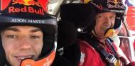 Pierre Gasly, copiloto por un día de Sébastien Ogier - SoyMotor.com