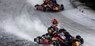 La primera batalla Verstappen vs. Gasly: karting sobre hielo - SoyMotor.com