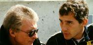 Gerard Ducarouge junto a Ayrton Senna - LaF1