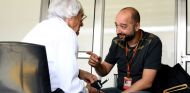 Gerard López junto a Bernie Ecclestone - SoyMotor
