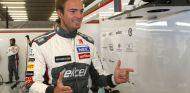 Giedo van der Garde en Spa-Francorchamps, donde se subió al C33 en los Libres 1 - LaF1