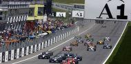 Salida del GP de Austraia F1 2002