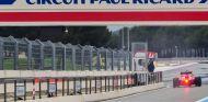 Kimi Räikkönen durante un test Pirelli en Paul Ricard - SoyMotor.com