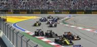 Grosjean pide más respeto en las salidas a los demás pilotos - SoyMotor.com