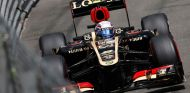 Romain Grosjean en el Lotus E21