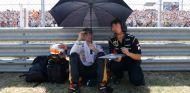 Romain Grosjean en Hungría