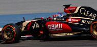 Romain Grosjean en los tests de Baréin - LaF1