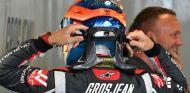 Grosjean, durante el GP de Hungría - SoyMotor.com