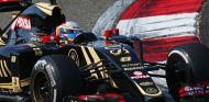 Romain Grosjean con el Lotus en Shanghái - LaF1
