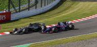 Romain Grosjean y Pierre Gasly en Suzuka - SoyMotor.com