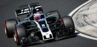 Grosjean durante el GP de Hungría - SoyMotor.com