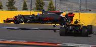 Momento del accidente en Sochi - SoyMotor.com