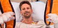 """Grosjean: """"Si no fuera por el halo, no estaría hablando con vosotros"""" - SoyMotor.com"""