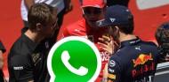 El grupo de Whatsapp de los pilotos de F1, más activo que nunca - SoyMotor.com