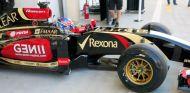 Romain Grosjean estrena el Lotus E22 en los test de Baréin