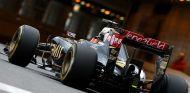 Romain Grosjean, ayer en Mónaco con la opción blanda de Pirelli - LaF1