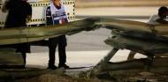 Grosjean golpeó los guardarraíles a 212 kilómetros/hora - SoyMotor.com