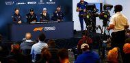 Los presentes: Hamilton, Alonso, Ricciardo y Grosjean –SoyMotor.com