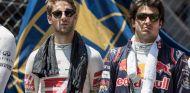 Romain Grosjean (izq.) junto a Carlos Sainz (der.) – SoyMotor.com