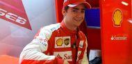 Gutiérrez cambiará el color rojo de Ferrari por el del equipo Haas en 2016 - LaF1