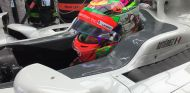 Gutiérrez, durante el GP de México - LaF1