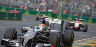 Esteban Gutiérrez durante el Gran Premio de Australia - LaF1