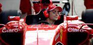 Gutiérrez al volante del Ferrari, donde le gustaría estar en el futuro - LaF1
