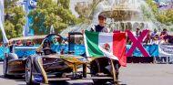 Gutiérrez en un evento promocional del México ePrix - SoyMotor