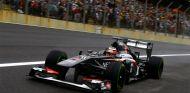 Nico Hülkenberg en Brasil, su última carrera con Sauber - LaF1