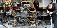 Detalle de Haas en Gran Bretaña con el logotipo de Rich Energy - SoyMotor