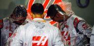 Box de Haas durante el GP de Brasil - LaF1